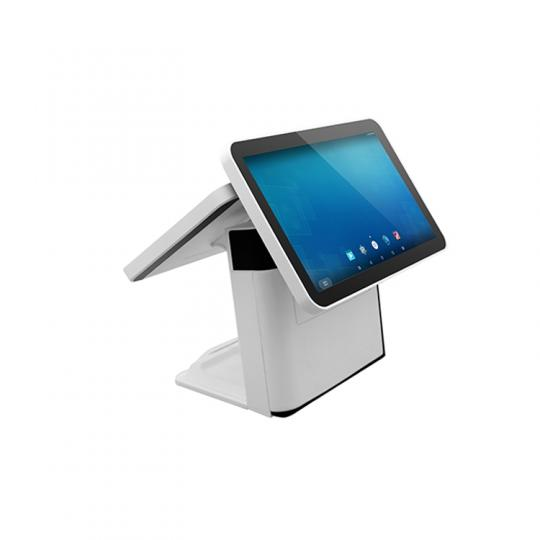 Two screen Android pos terminal