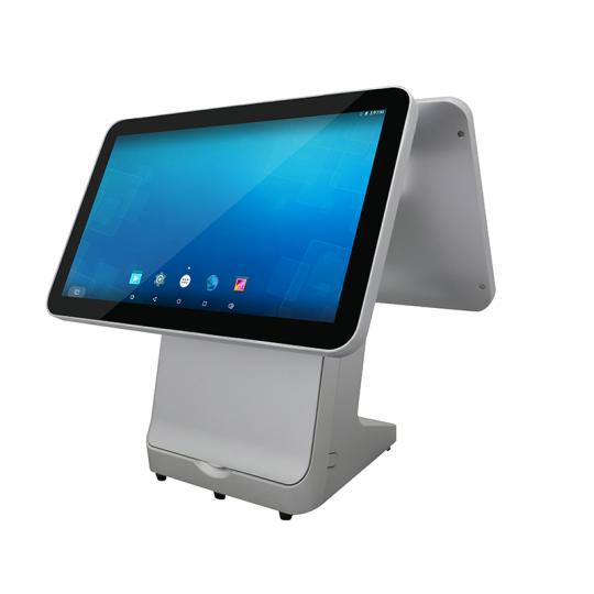 dual screen android pos systems