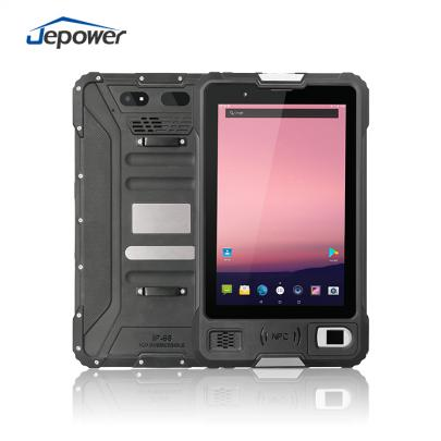 8 inch Android NFC RFID Fingerprint Rugged industrial Tablet PDA